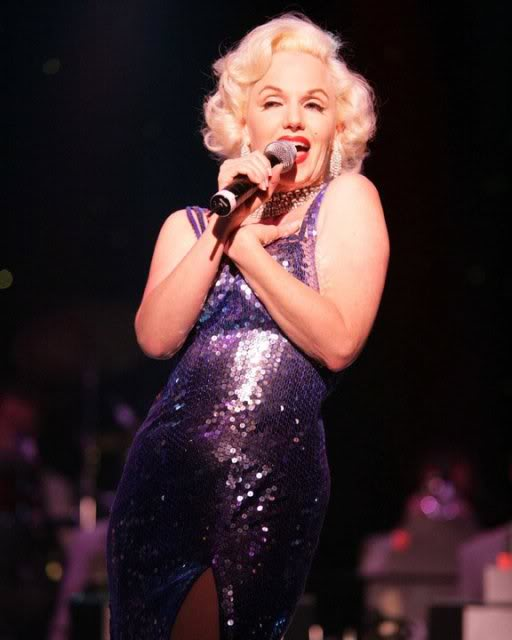 Susan Griffiths As Marilyn Monroe : Stage One Promotions
