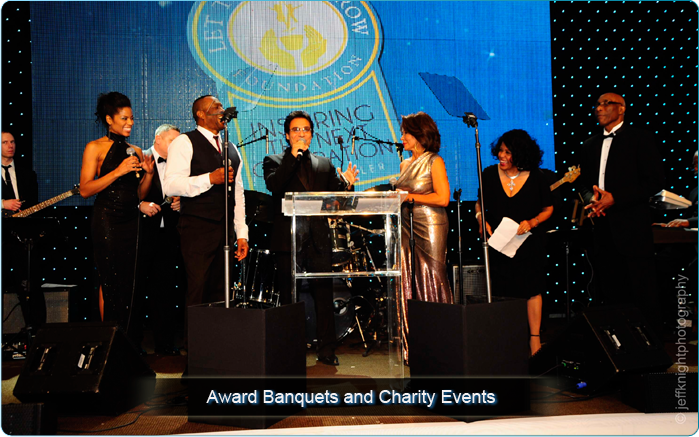 Award Banquet and Charity Events